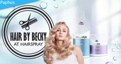 Treat yourself and your hair to a great new look as well as a strengthening treatment with Hair by Becky.