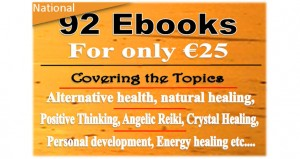 92 EBOOKS covering Alternative health, Natural and Energy Healing, Personal and Spiritual Development