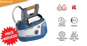 Enjoy effortless Ironing with a Di4 Jet Pressing Pro ironing system
