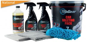 TOP GEAR 7-in-1 Car Valeting Pack
