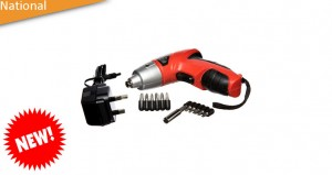 3.6V Cordless Screwdriver Kit