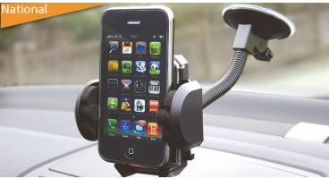 Flexible Windscreen Suction Gadget Holder