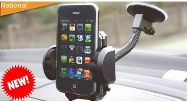 Flexible Windscreen Suction Gadget Holder