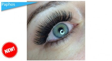 Eyelash extensions from Ivi Beauty Studio