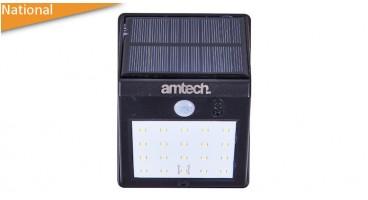 20 SMD LED solar pir sensor light