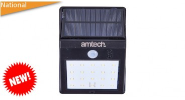 20 SMD LED solar pir sensor light