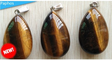 Beautiful Tiger Eye crystal Pendant