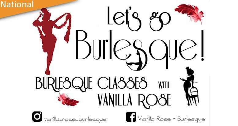 Vanulla Rose Burlesque Classes